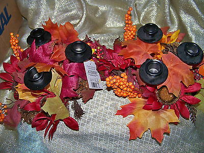 Fall Candle Holders-2-triples