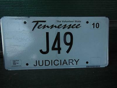 2009 Tennessee J49 Judicary License Plate Tavern Automobile Garage Bar Man Cave