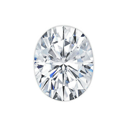 Charles & Colvard® Original Forever One® DEF Moissanite Oval Cut Loose Stone
