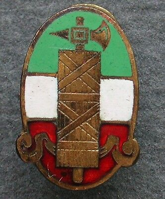 Early Party Enamelled P.n.f. 1919/23 Badge Partito Nazionale Fascista S.a.f. #2