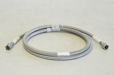 """Gore 65474 Armored Test Cable 80"""" Male N Connectors A3Q01Q01078.0 RF"""