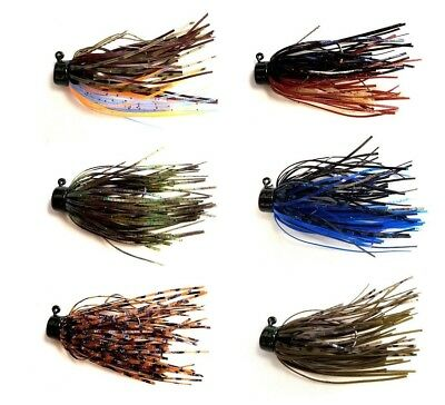 Z MAN SHROOMZ MICRO FINESSE JIG 3/16 OZ 2 PACK select colors