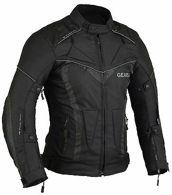 Medium Summer Motorbike Motorcycle Jacket with Protective armour