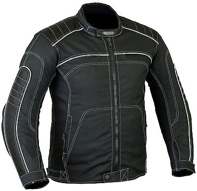 Airflow Summer Motorbike Motorcycle Jacket with Protective armour XXL