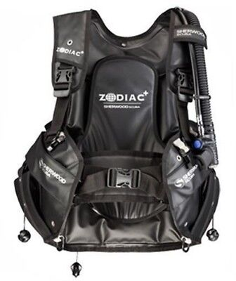 Sherwood Zodiac+ Rugged Water Resistant Weight Integrated Scuba Diving Bc Bcd Lg