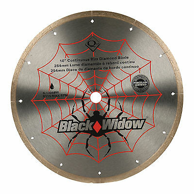 FREE SHIPPING-QEP Black Widow Blade-10in #6-1008BW