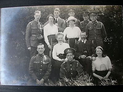 WW1 photo  Soldiers ROYAL ARMY MEDICAL CORPS   (9)