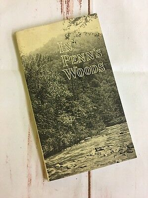 Vintage 1928 In Penn's Woods Tourist Guidebook to Pennsylvania State Forests