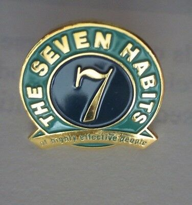 The 7 Habits Of Highly Effective People -  Facilitator Lapel Pin