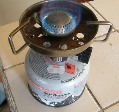 Coleman backpacker stove