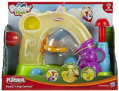 Playskool Musical Ball Popper Park Pound-N-Pop Carnival