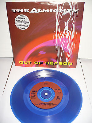 """Almighty - Out of Season 7"""" blue vinyl"""
