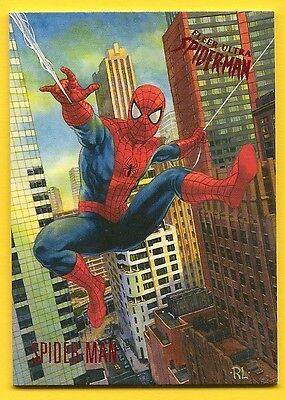 2017 Fleer Ultra - SPIDERMAN - NSU Promo Card - MINT