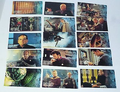 """Set Of 66 Perfect Condition """"star Trek : First Contact"""" Movie Cards (Skybox)"""