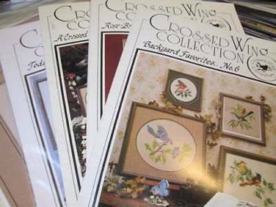 Crossed Wing Collection Cross Stitch Leaflet-Your Choice