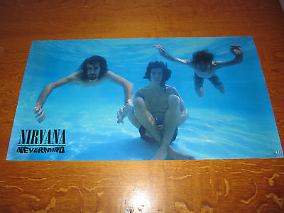 Nirvana - Nevermind - Original 1991 USA Geffen Records promo poster