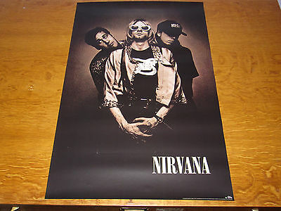 Nirvana - In Utero - Original 1993 USA Geffen Records promo poster