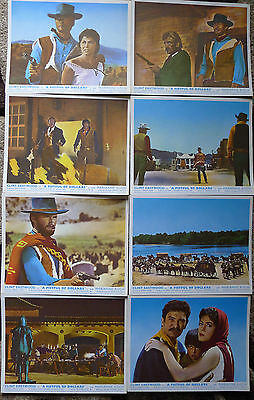 A Fistful of Dollars. Clint Eastwood. UK. Lobby Cards.