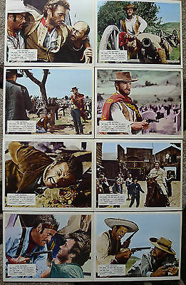 The Good the Bad the Ugly. Clint Eastwood. UK. Lobby Cards.