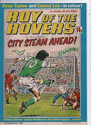 ROY OF THE ROVERS COMIC 15th November 1980 VG