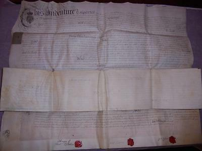 1774 4 Page Manuscript Vellum Indenture Mortgage Document Helston Cornwall #22