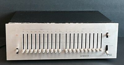 PIONEER SG-9500 10 Band Stereo Graphic Equalizer