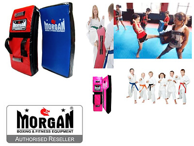 Morgan Junior Kicking Pad Kick Boxing Bump Hit Kids Teens Small Strike