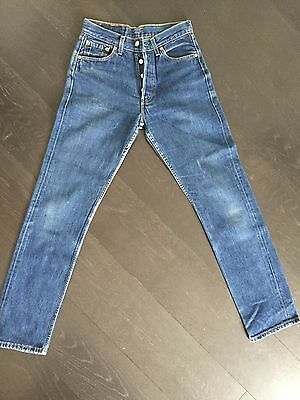 Vintage Levis 501 Womens Ultimate Denim High Waisted Mom/boyfriend Jeans