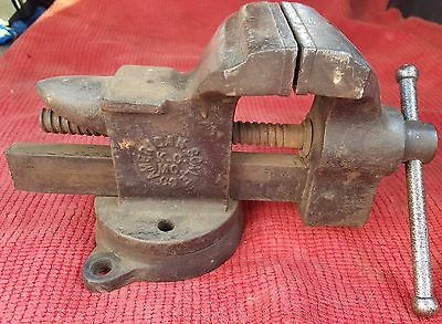 FREE  SHIPPING! American Scale Co. Anvil Vise w Swivel Base 35, 3.5'' Jaw