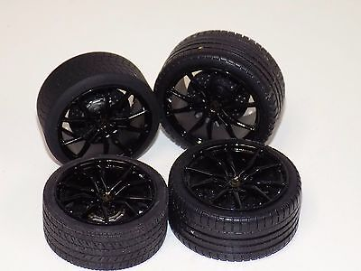 1/18 MR Lamborghini Aventador set of 4 wheels with calipers and tires   132