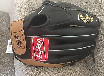 "Rawlings PL1308 13"" Inch Leather Right Hand RH Glove Mitt New Baseball"