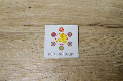 Money Light Mandalas Cards Deck for Meditation Esoteric Buddhism Oracle Tarot