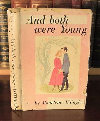 Madeleine L'Engle AND BOTH WERE YOUNG 1949 true 1st ED w/DJ wrinkle in time