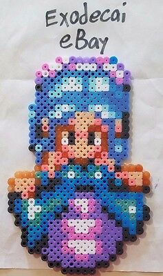 Jessica Secret Of Mana Bead Sprite Perler Art Retro Nintendo Snes Square Enix