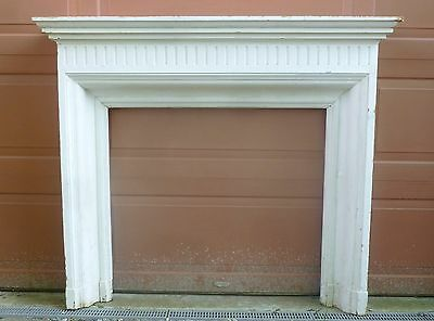 19th Century - FIREPLACE MANTEL - Elegant Fluted Federal Architectural Salvage