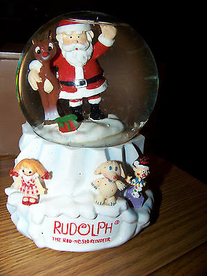 Rudolph The Red-Nosed Reindeer & Misfits Toys Snowglobe/Bank