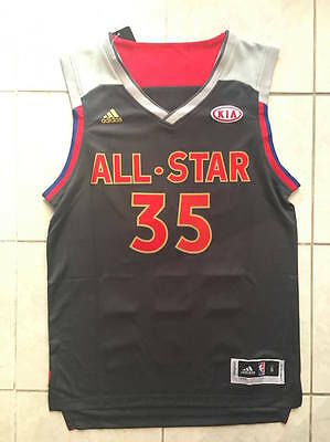 Kevin Durant Golden State Warriors All Star 2017 NBA Jersey