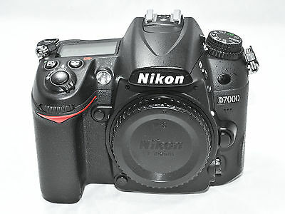 Nikon D7000 16.2 MP Digital SLR Camera (Body Only), Excellent Condition