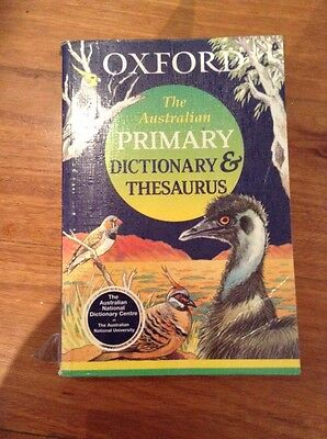 Oxford The Australian Primary Dictionary & Thesaurus