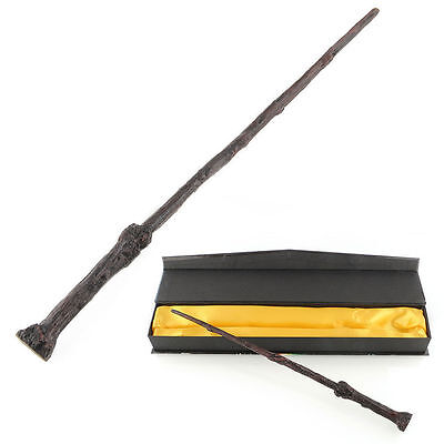 Harry Potter Holly Magical Wand Cosplay Replica With Box Fan Collection US Stock