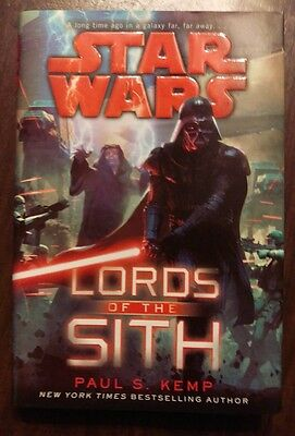 Star Wars: Lords of the Sith by Paul S. Kemp (2015, Hardcover)