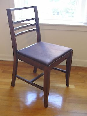 Set of 4 Dining Chairs Mid Century Modern by Shower's Bros. Furniture USED