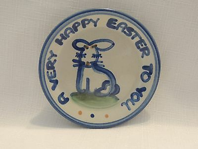 "M A HADLEY-A Very Happy Easter To You 4 1/8"" Coaster-EUC!"