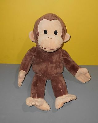"Kohl's Cares 16"" Curious George Plush Brown Monkey Toy Stuffed Animal"