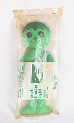 Jolly Green Giant Sprout Cloth Plush Doll MIP Advertising 1970s NEW Old Stock