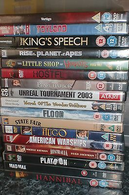 DVD BUNDLE - 17 x MIXED DVD's - 15 x USED & 2 x NEW SEALED