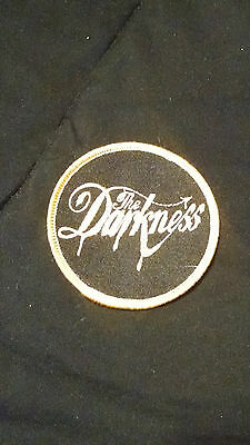 "The Darkness (glam rock band) 2003 promo 3"" Embroidered logo Patch"