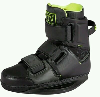 SLINGSHOT KTV closed toe Wakeboard Bindings boots UK 11 US12. SLINGSHOT BOOTS