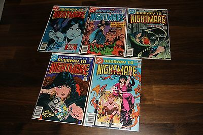 DOORWAY TO NIGHTMARE * DC Comic Book #1 2 3 4 and 5 * Lady Xanadu