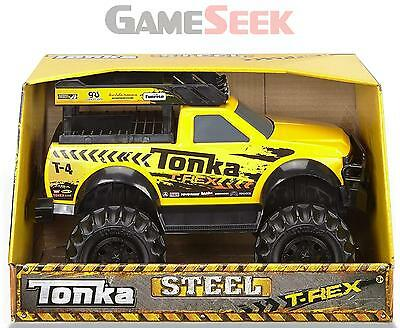 Tonka 90604 Steel 4X4 T-Rex Edition Vehicle Toy - Toys Brand New Free Delivery